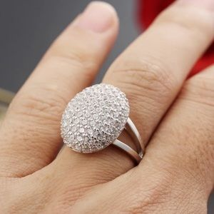 NEW💍TWILIGHT BELLA SILVER ENGAGEMENT RING